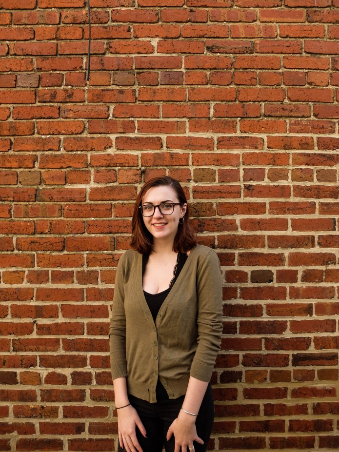 """Paige Davis (Public Relations Director - Fall) is a Senior from Malvern, PA. She is the proud mother of 5 beautiful chickens, and named all of them after some of her favorite songs. She is involved with Forbidden Planet Productions at GW, as well as Alpha Delta Pi Sorority. She calls the GW Pitches her family away from family, and her personal motto is """"float like a jellyfish, sting like a jellyfish"""". Her favorite Pitches memory is winning GW Battle of The A Cappellas 2017."""