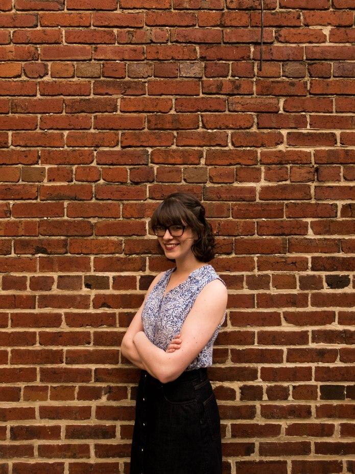 Hannah Friedman (Co-Music Director) is a junior who is one of those rare New Jersey kids at GW. She is studying political science and women's studies. She loves chocolate pudding and is very much so preoccupied with 1985. Hannah will never miss an opportunity to play dress up, talk about gender equality, or sing with the GW Pitches